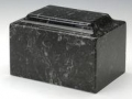 Ebony Cultured Marble Cremation Urn